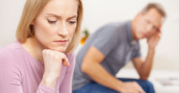 Couple deciding on legal separation.